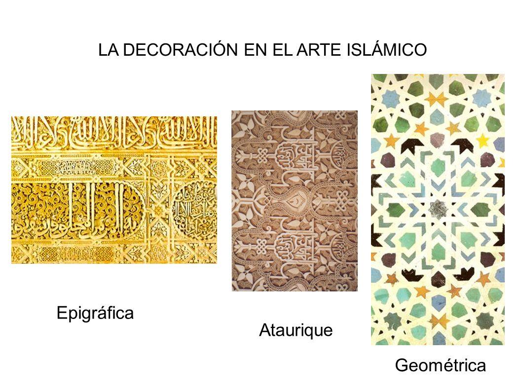 LA DECORACIÓN EN EL ARTE ISLÁMICO