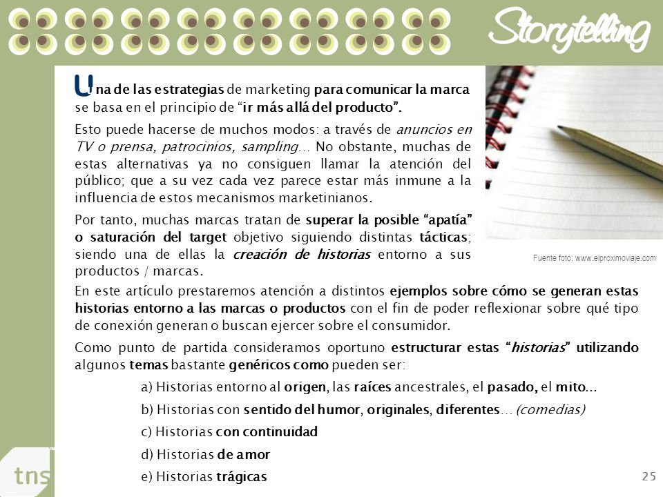 U una de las estrategias de marketing para comunicar la marca