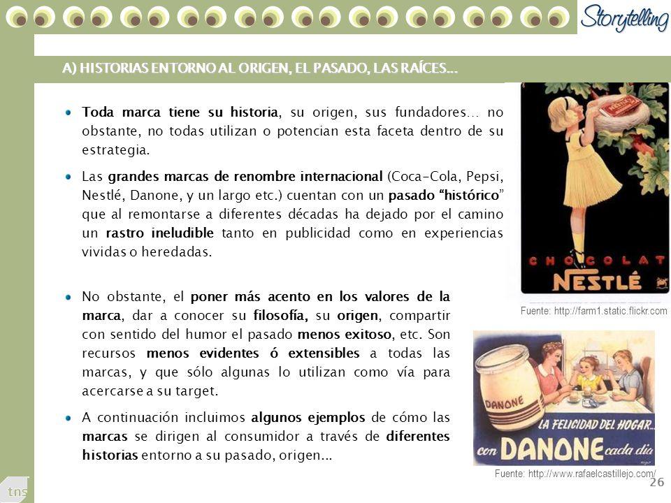 A) HISTORIAS ENTORNO AL ORIGEN, EL PASADO, LAS RAÍCES...