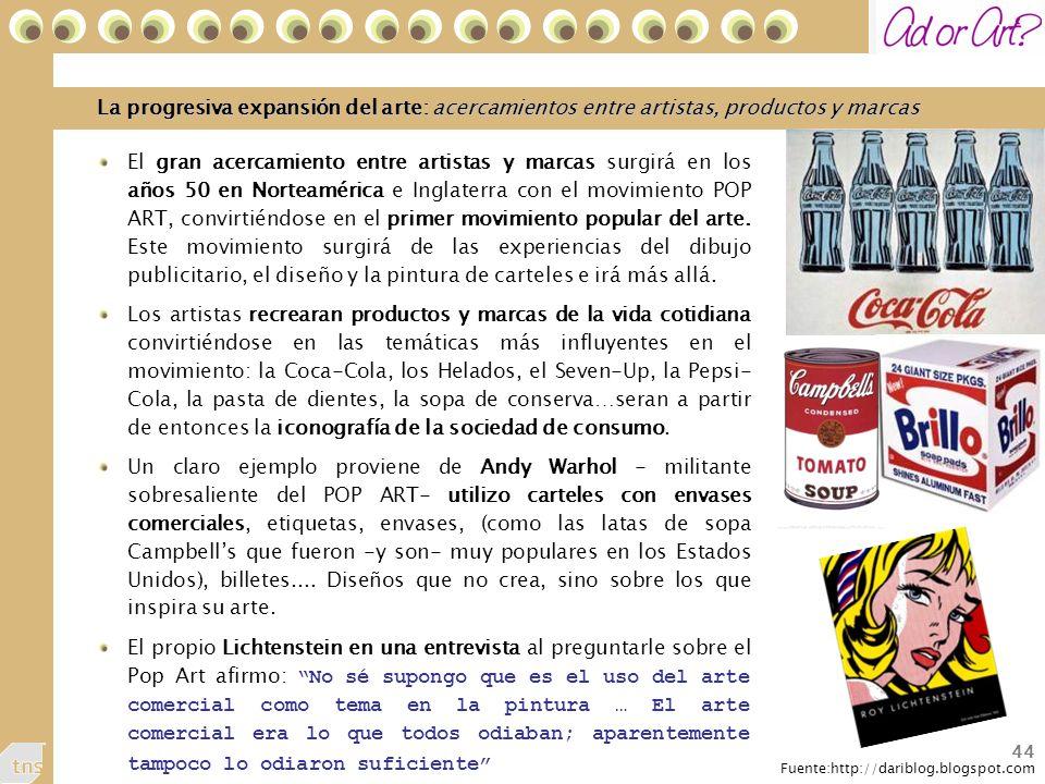 La progresiva expansión del arte: acercamientos entre artistas, productos y marcas