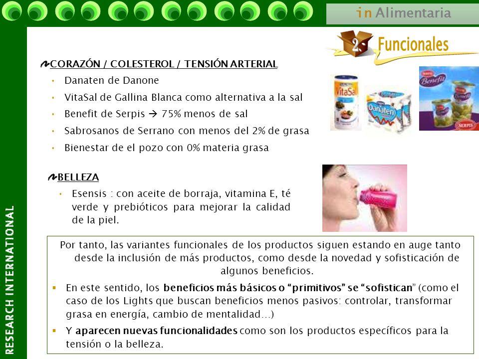 Funcionales 2.- in Alimentaria CORAZÓN / COLESTEROL / TENSIÓN ARTERIAL