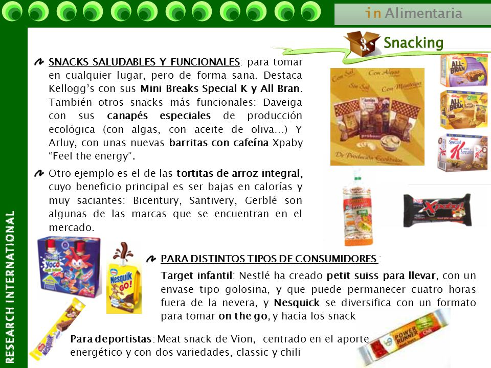 Snacking 3.- in Alimentaria