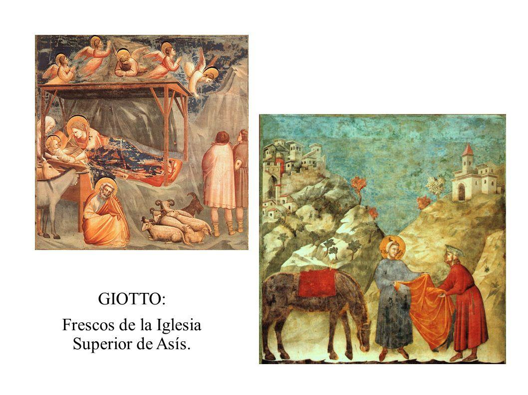 Frescos de la Iglesia Superior de Asís.