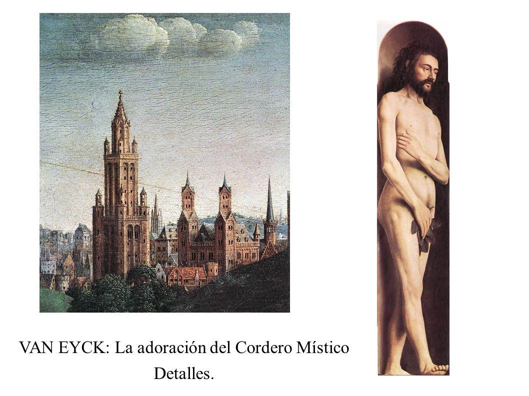 VAN EYCK: La adoración del Cordero Místico