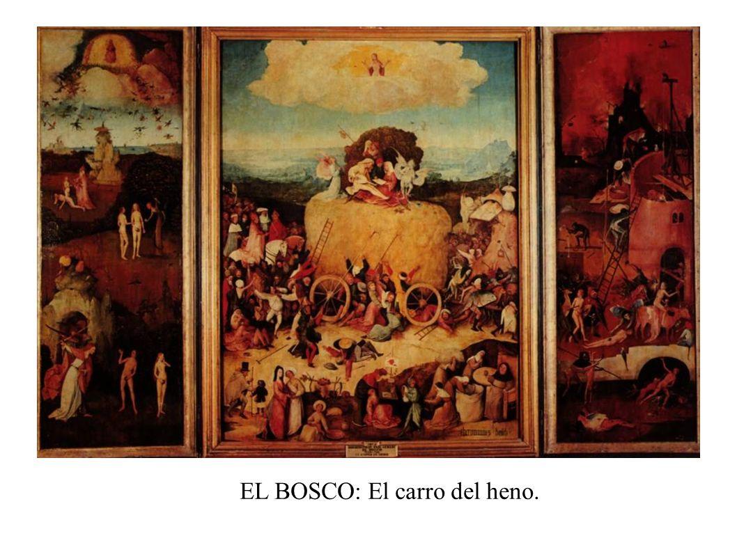 EL BOSCO: El carro del heno.