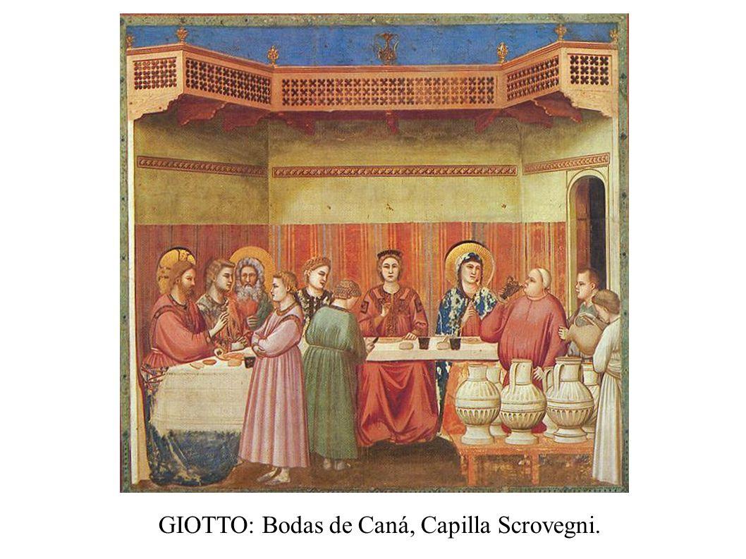 GIOTTO: Bodas de Caná, Capilla Scrovegni.