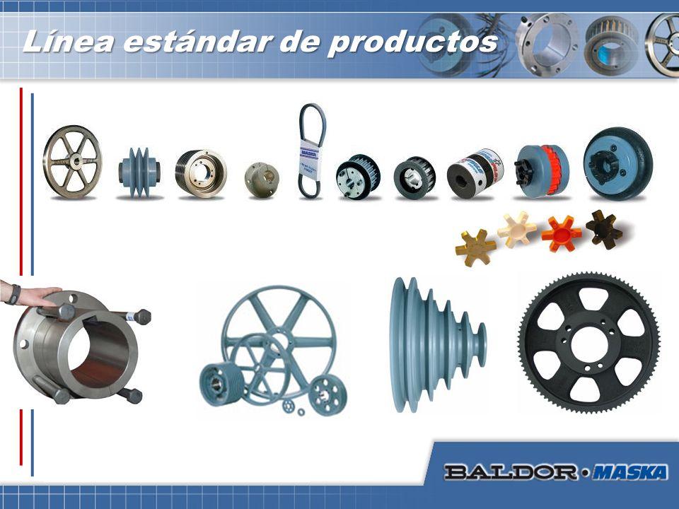 Línea estándar de productos