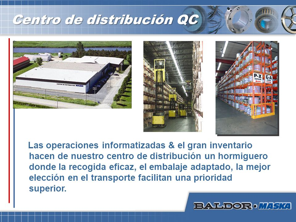 Centro de distribución QC