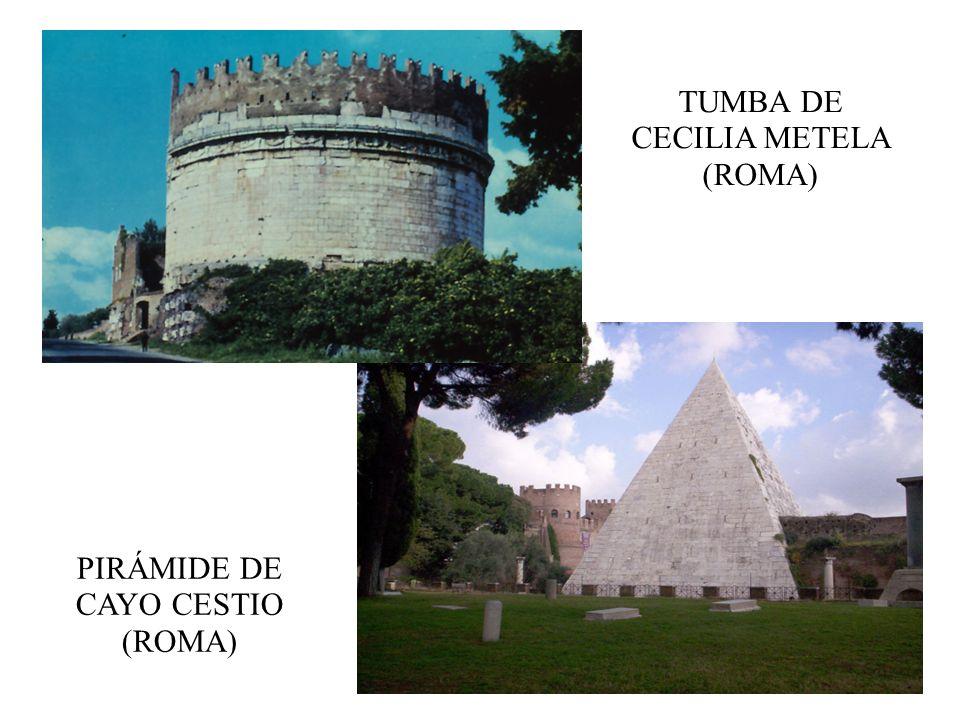 TUMBA DE CECILIA METELA (ROMA)