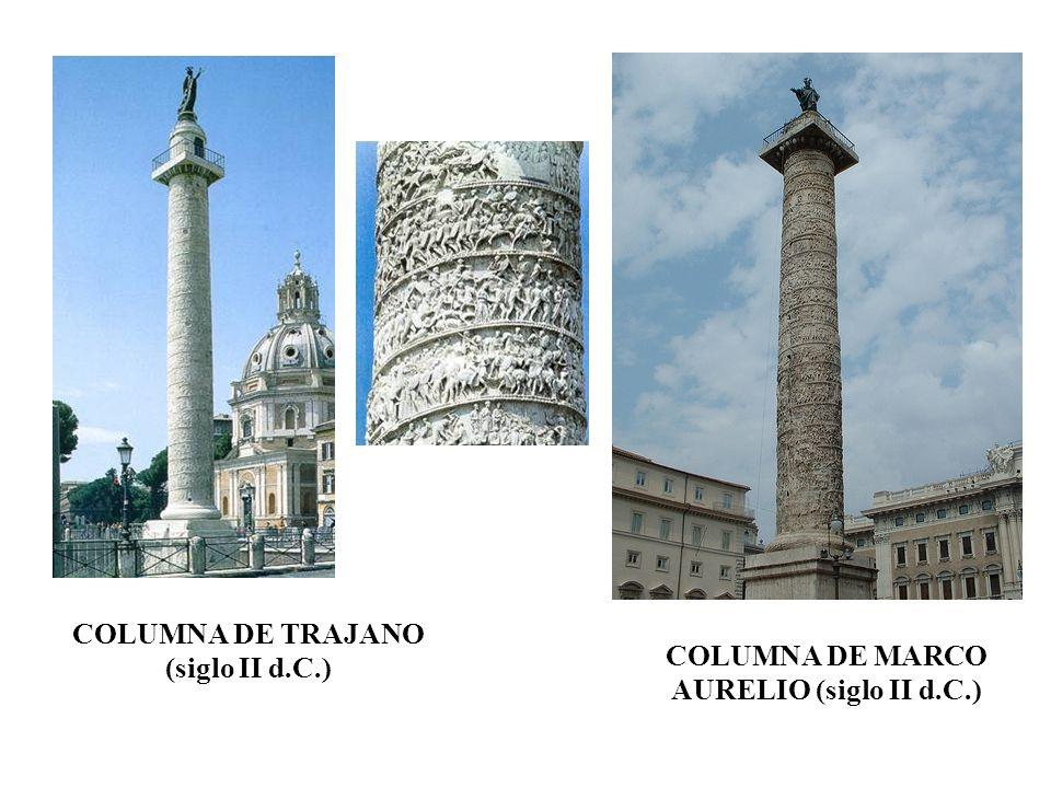COLUMNA DE TRAJANO (siglo II d.C.)