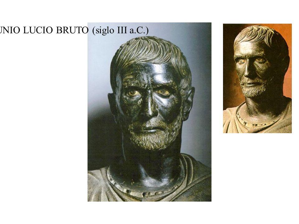 BUSTO DE JUNIO LUCIO BRUTO (siglo III a.C.)