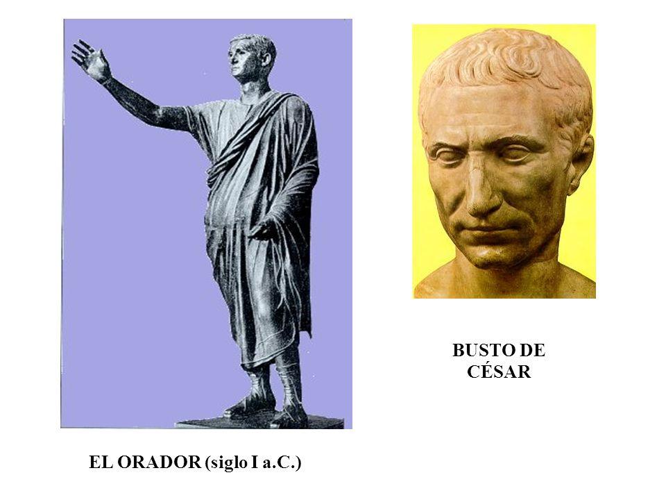 BUSTO DE CÉSAR EL ORADOR (siglo I a.C.)