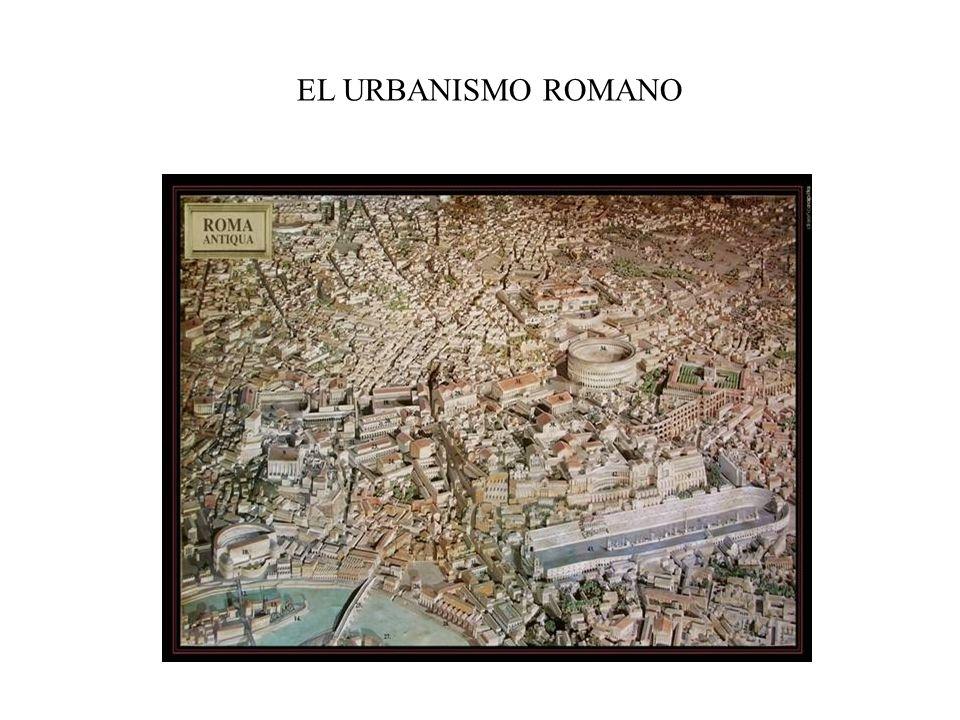 EL URBANISMO ROMANO