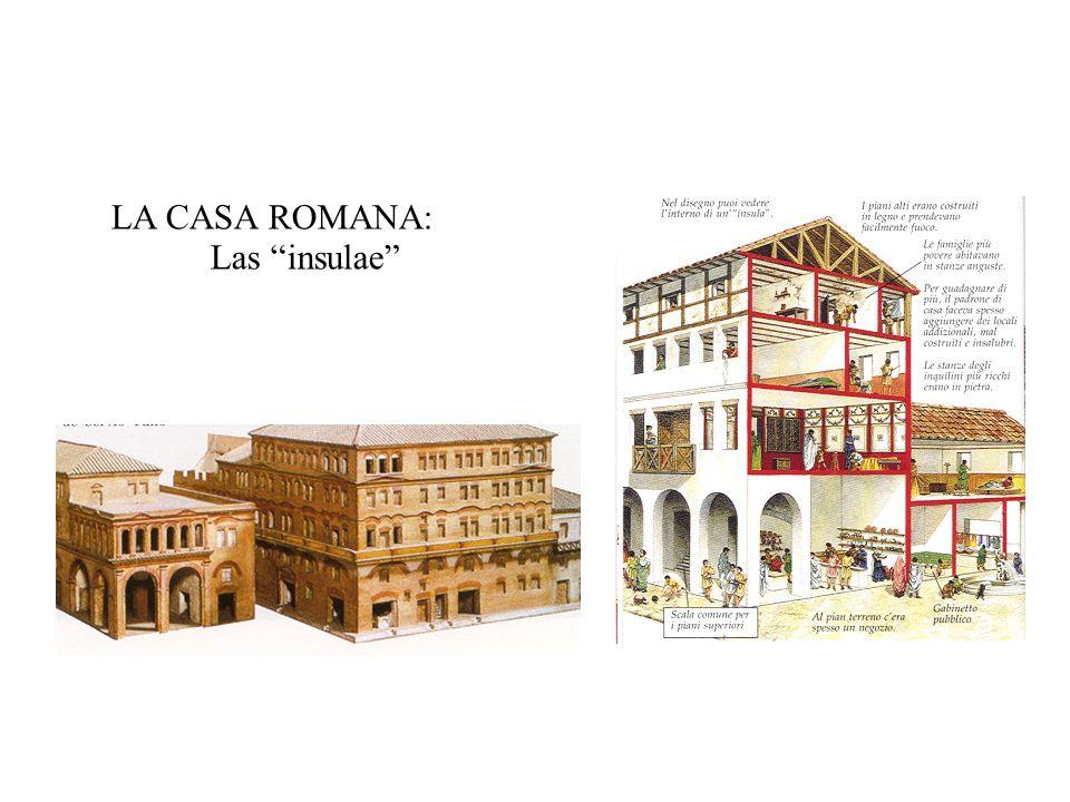 LA CASA ROMANA: Las insulae