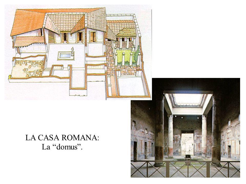 LA CASA ROMANA: La domus .