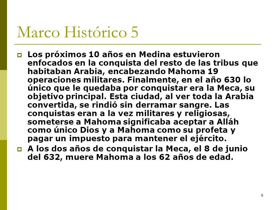 Marco Histórico 5