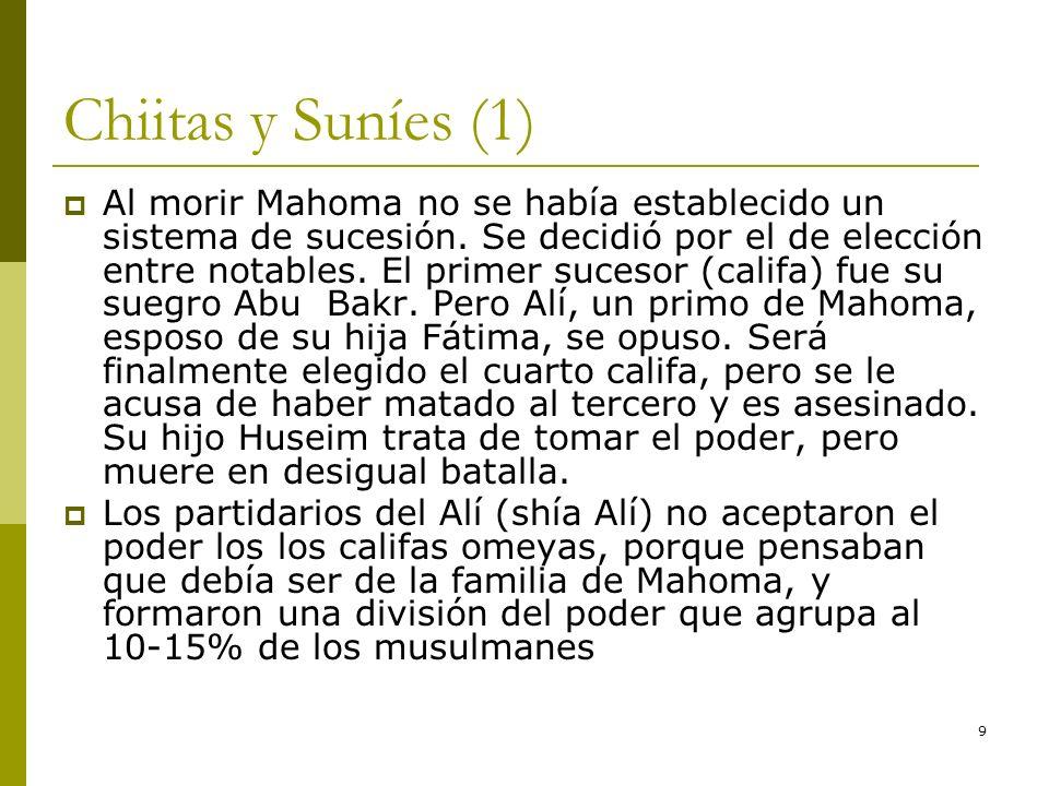 Chiitas y Suníes (1)