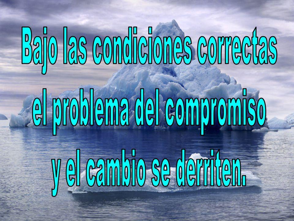 Bajo las condiciones correctas el problema del compromiso
