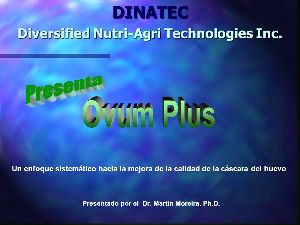 DINATEC Presenta Ovum Plus Diversified Nutri-Agri Technologies Inc.