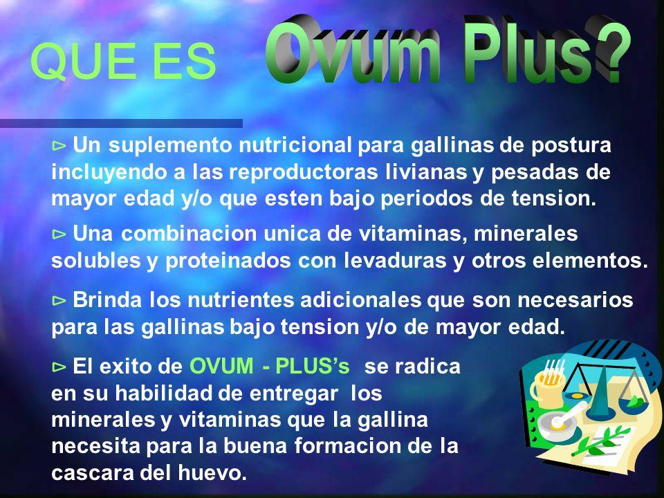 Ovum Plus QUE ES.