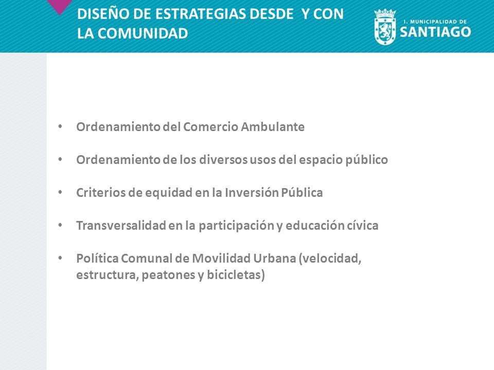 DISEÑO DE ESTRATEGIAS DESDE Y CON LA COMUNIDAD