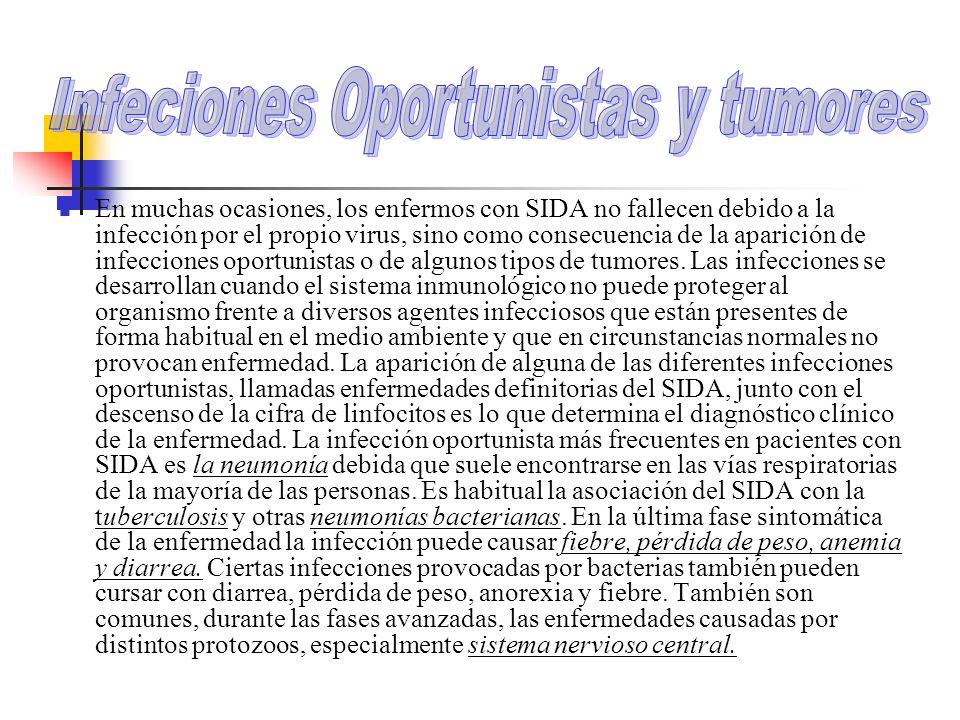Infeciones Oportunistas y tumores