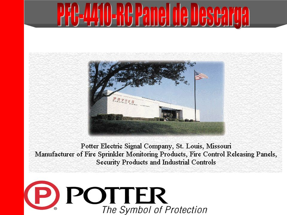 PFC-4410-RC Panel de Descarga