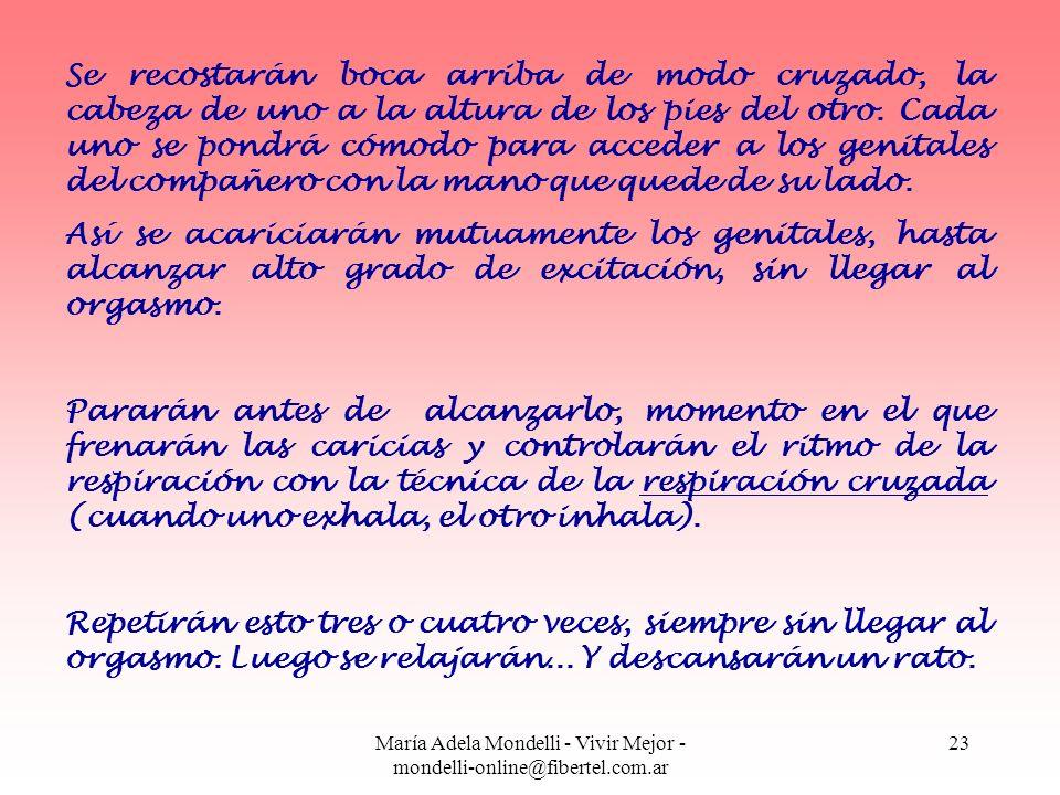 María Adela Mondelli - Vivir Mejor - mondelli-online@fibertel.com.ar