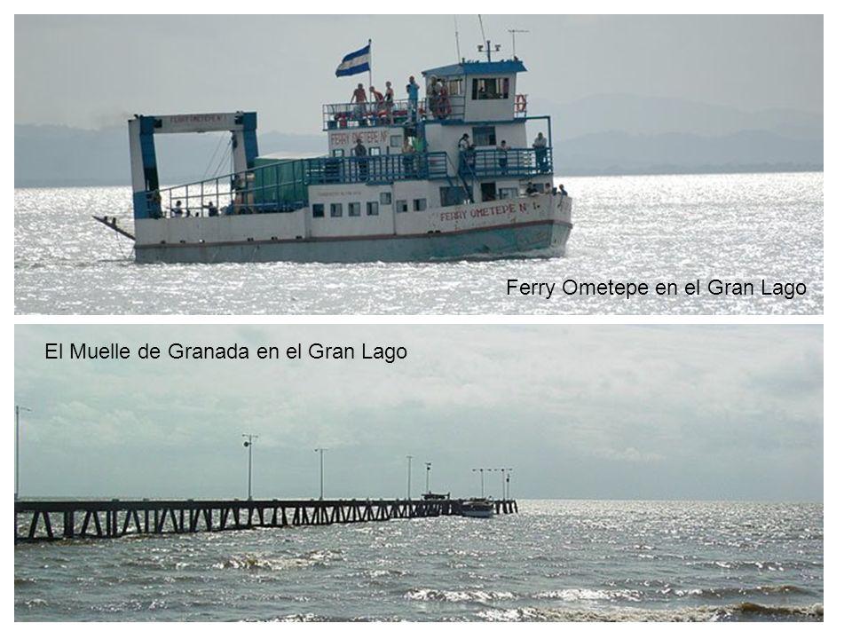 Ferry Ometepe en el Gran Lago