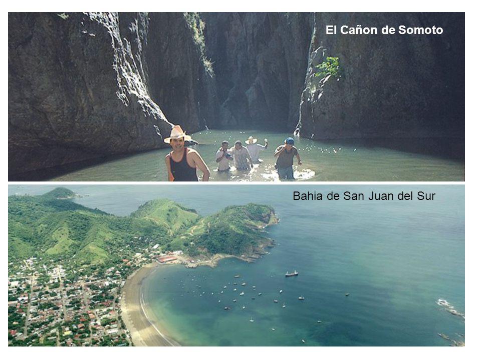 El Cañon de Somoto Bahia de San Juan del Sur