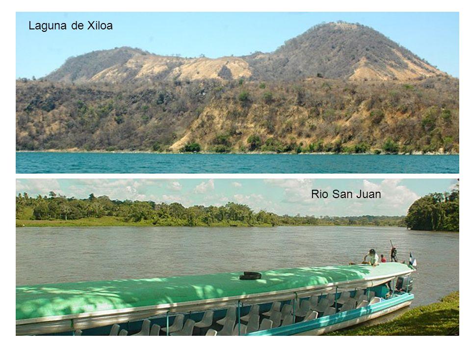 Laguna de Xiloa Rio San Juan