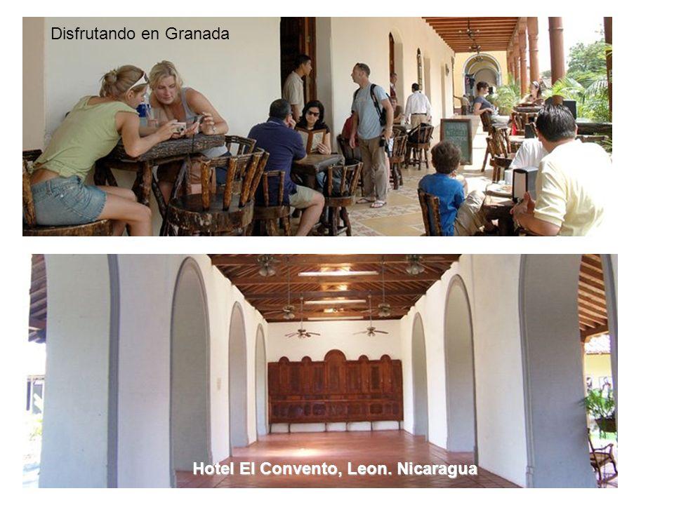 Disfrutando en Granada