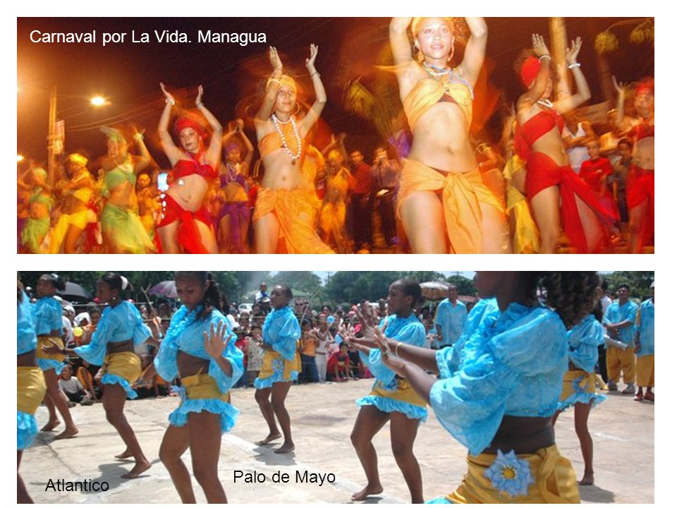 Carnaval por La Vida. Managua