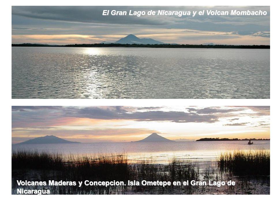 El Gran Lago de Nicaragua y el Volcan Mombacho