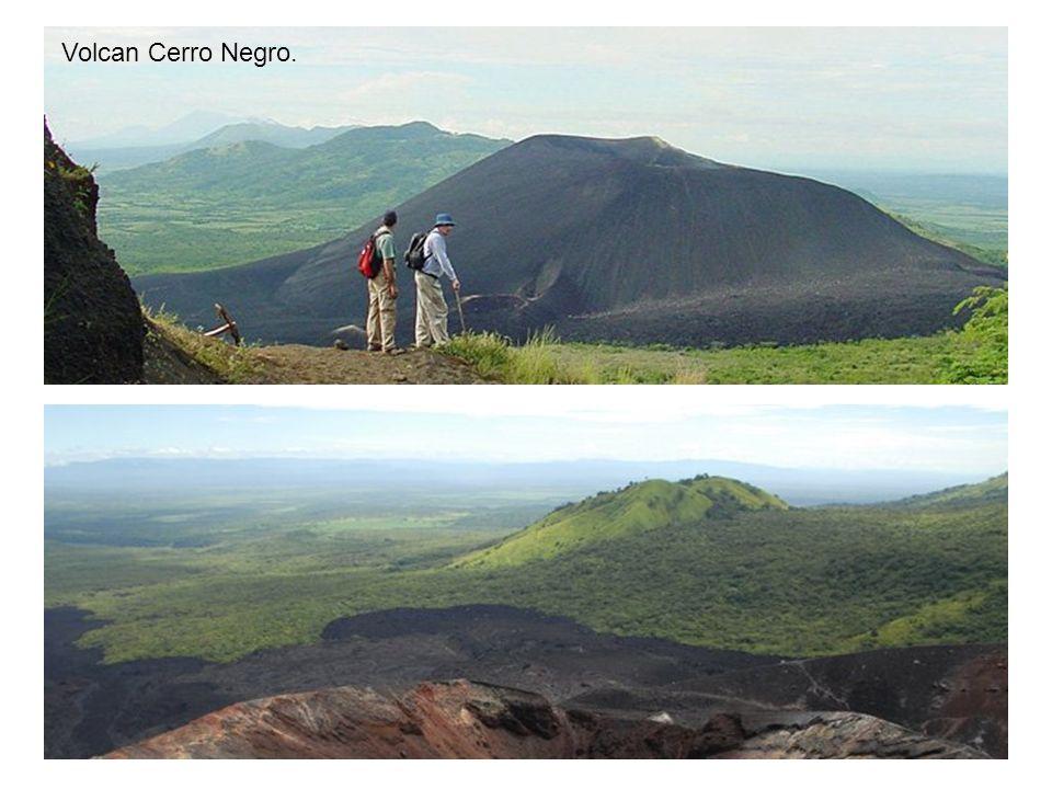 Volcan Cerro Negro.