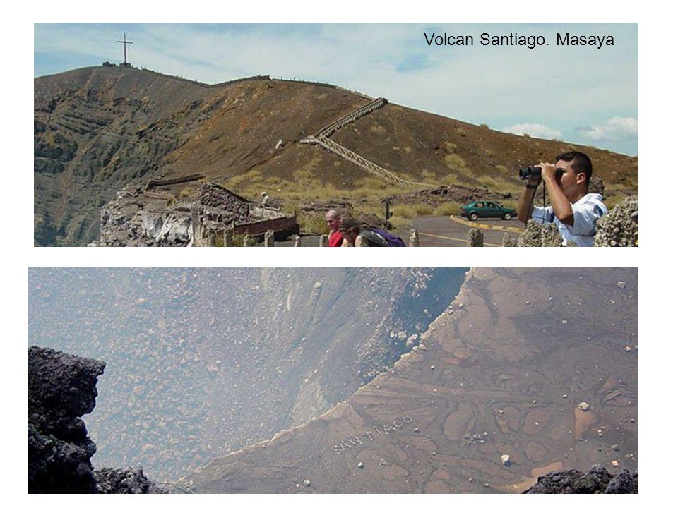 Volcan Santiago. Masaya