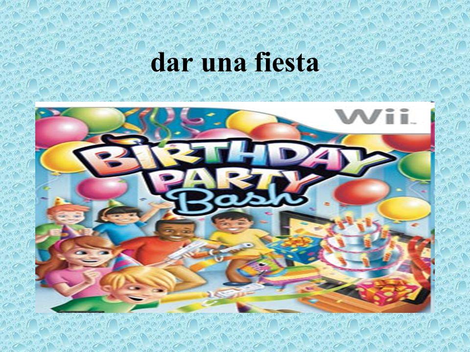 dar una fiesta