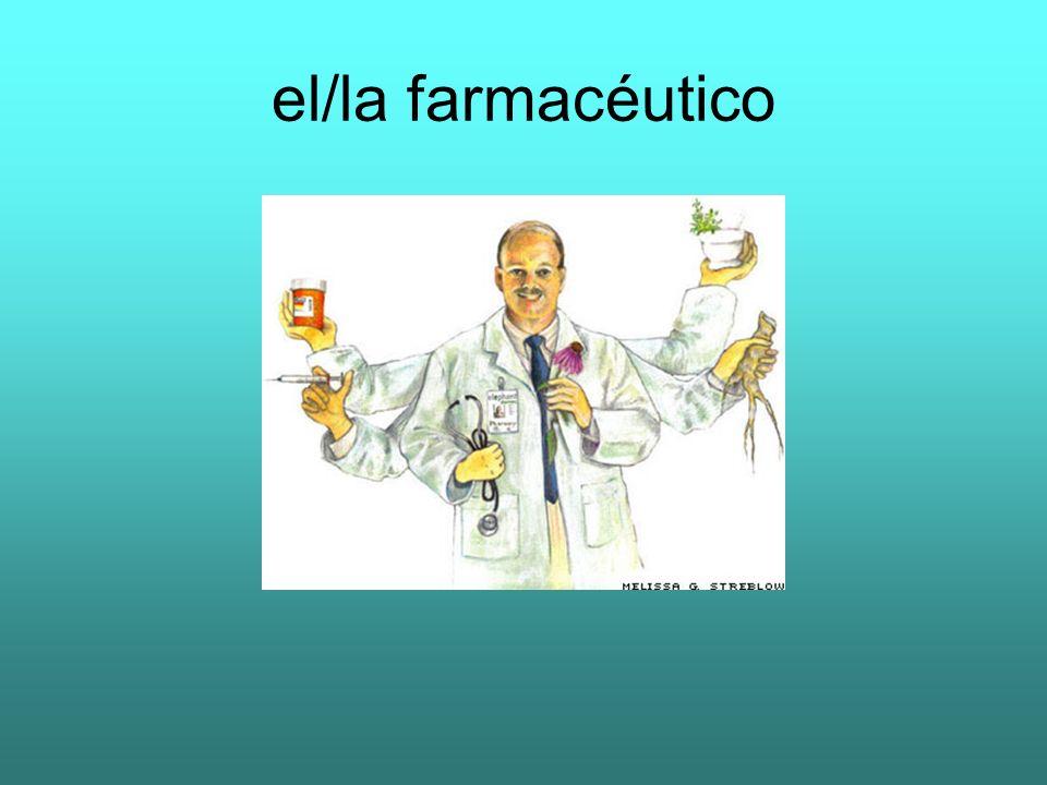 el/la farmacéutico