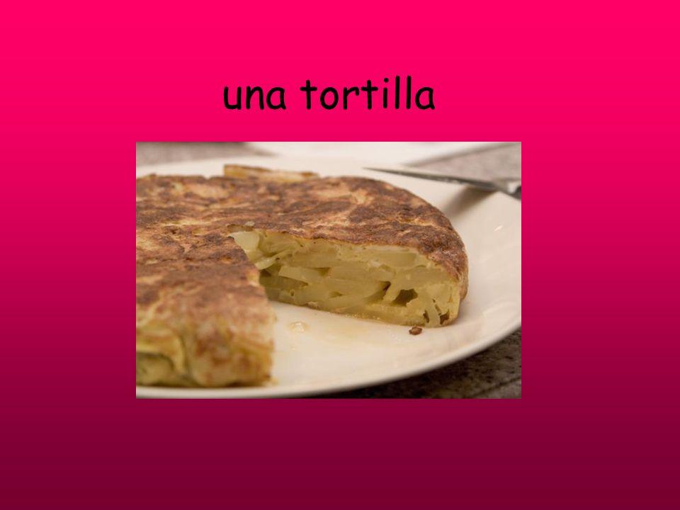 una tortilla