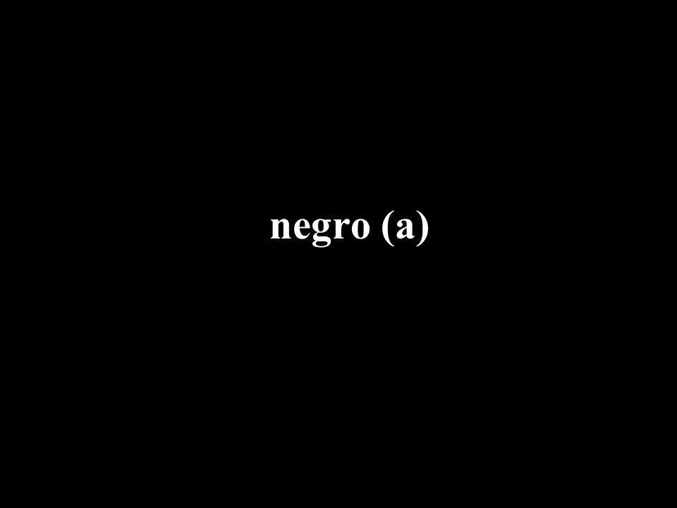 negro (a)