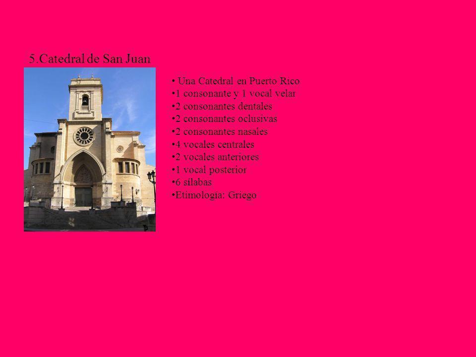 5.Catedral de San Juan Una Catedral en Puerto Rico