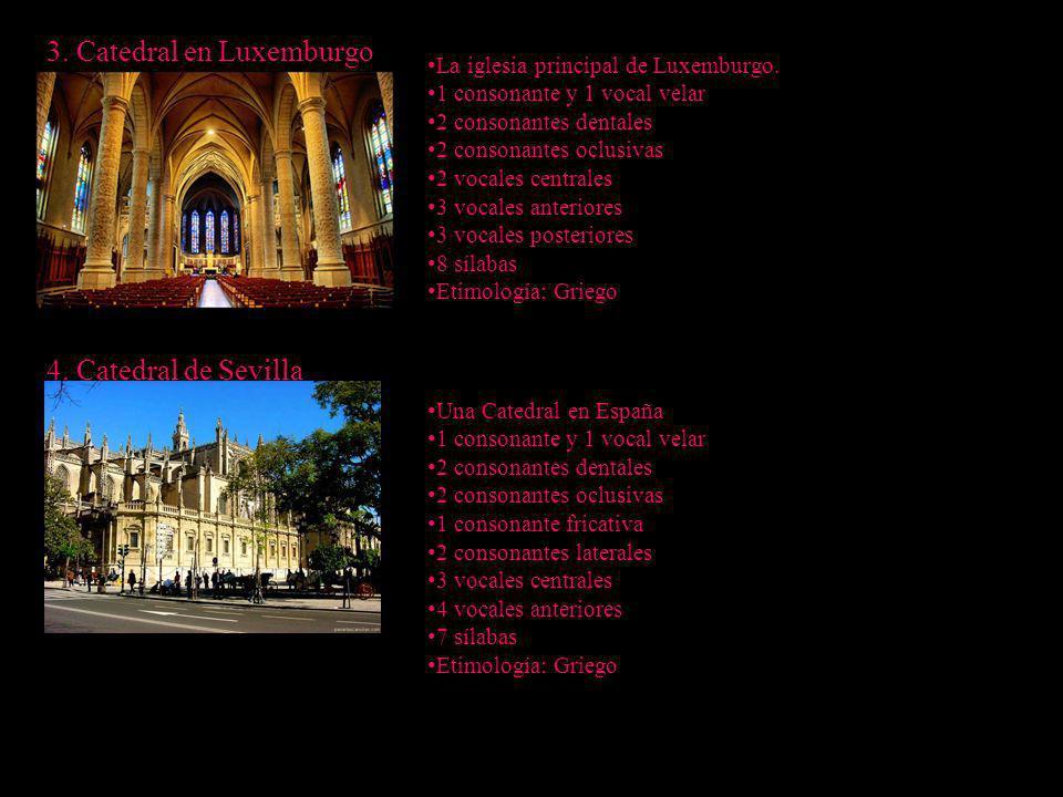 3. Catedral en Luxemburgo