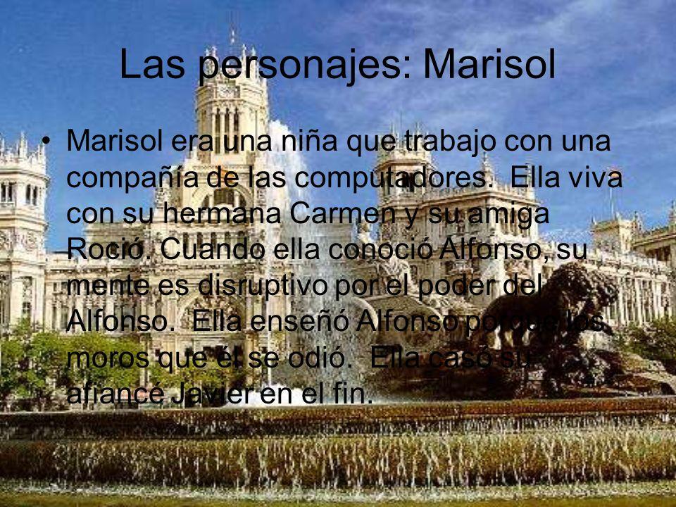 Las personajes: Marisol