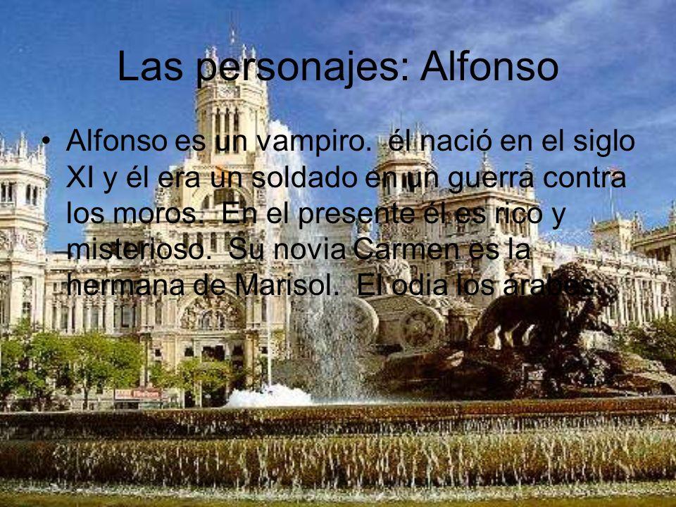Las personajes: Alfonso
