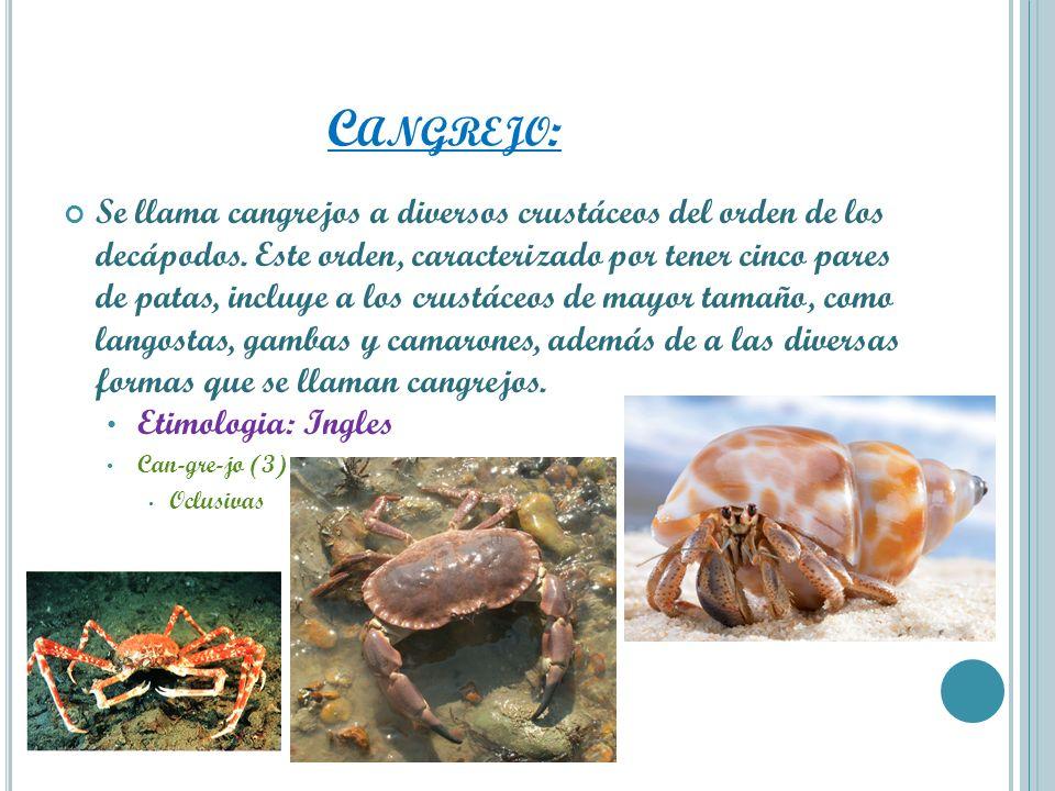 Cangrejo: