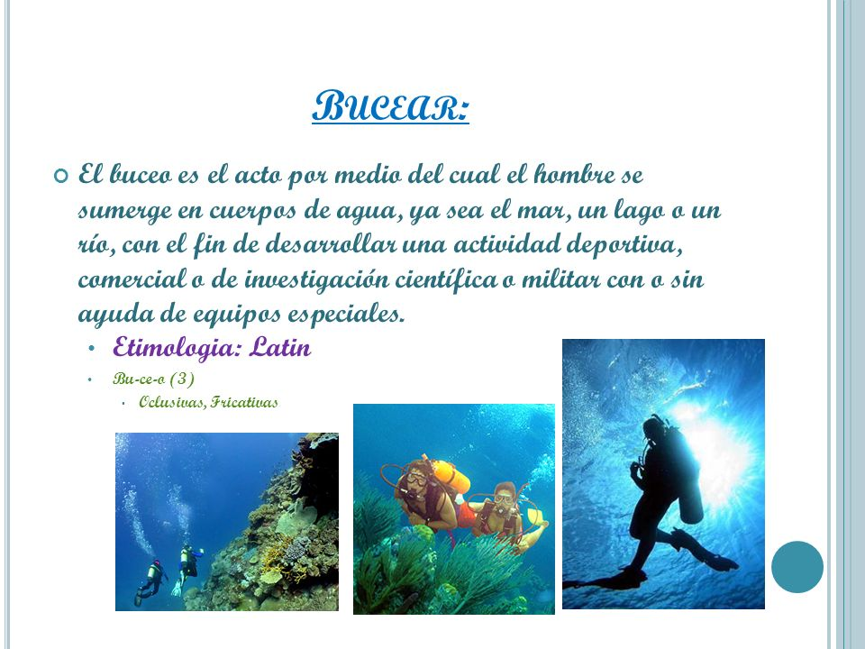 Bucear: