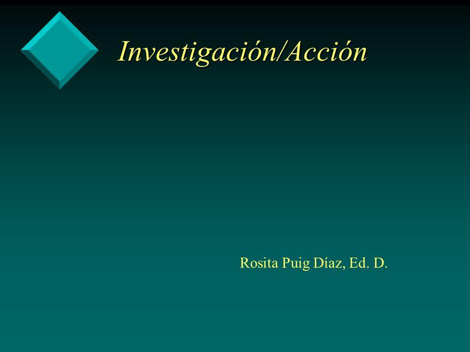 Investigación/Acción