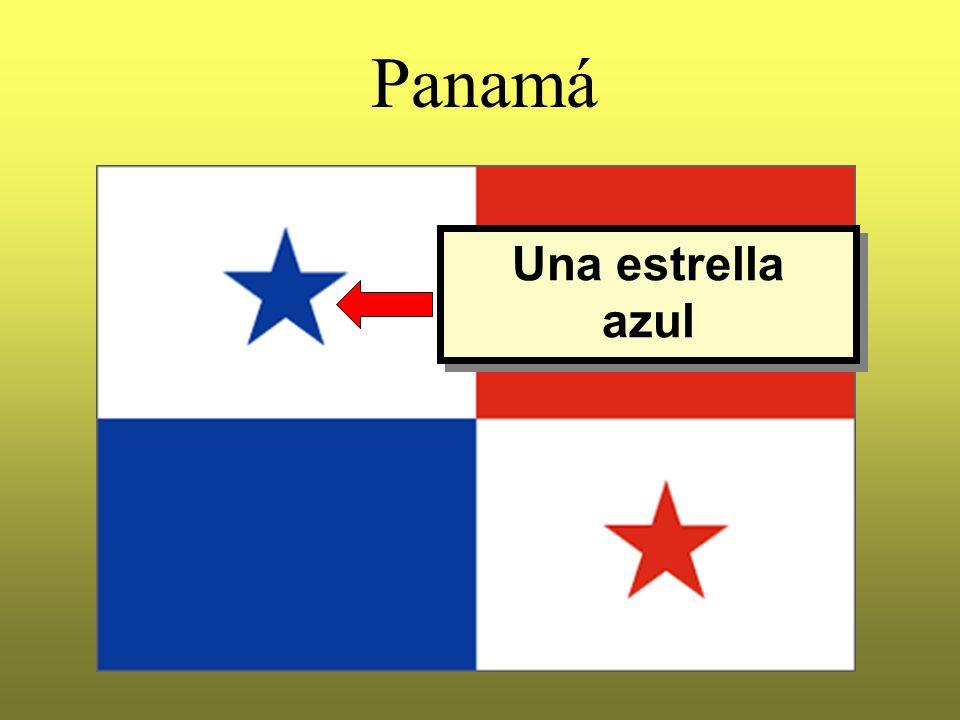 Panamá Una estrella azul