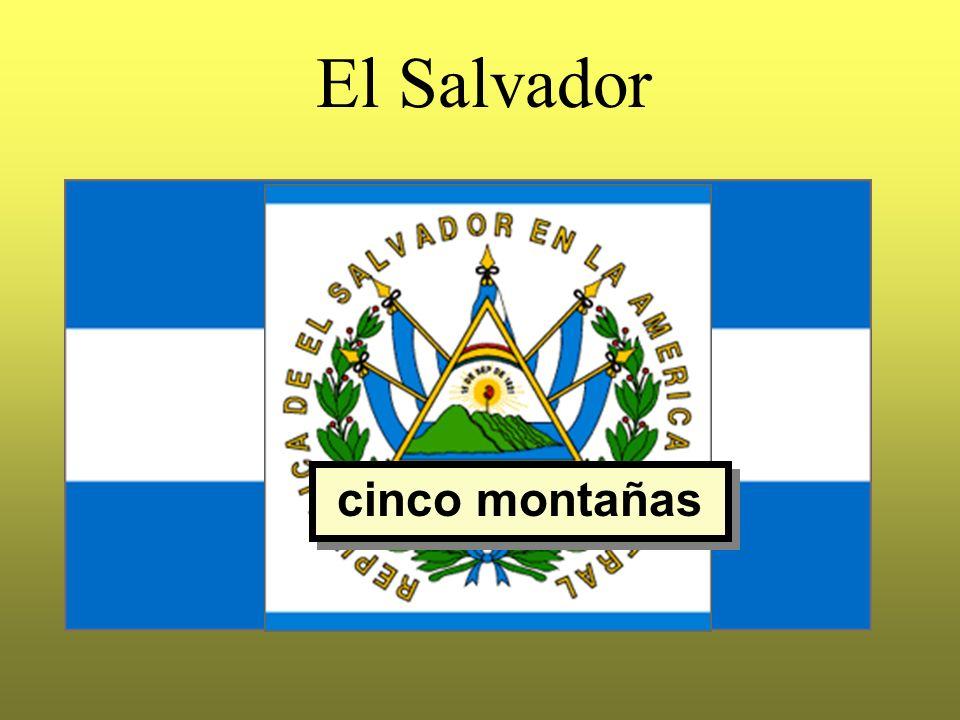 El Salvador cinco montañas