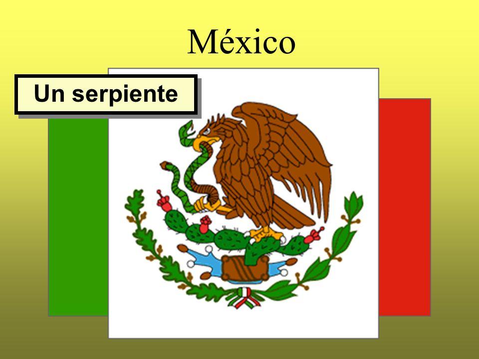 México Un serpiente